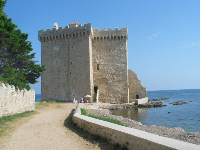 le fort de l'île St Honorat