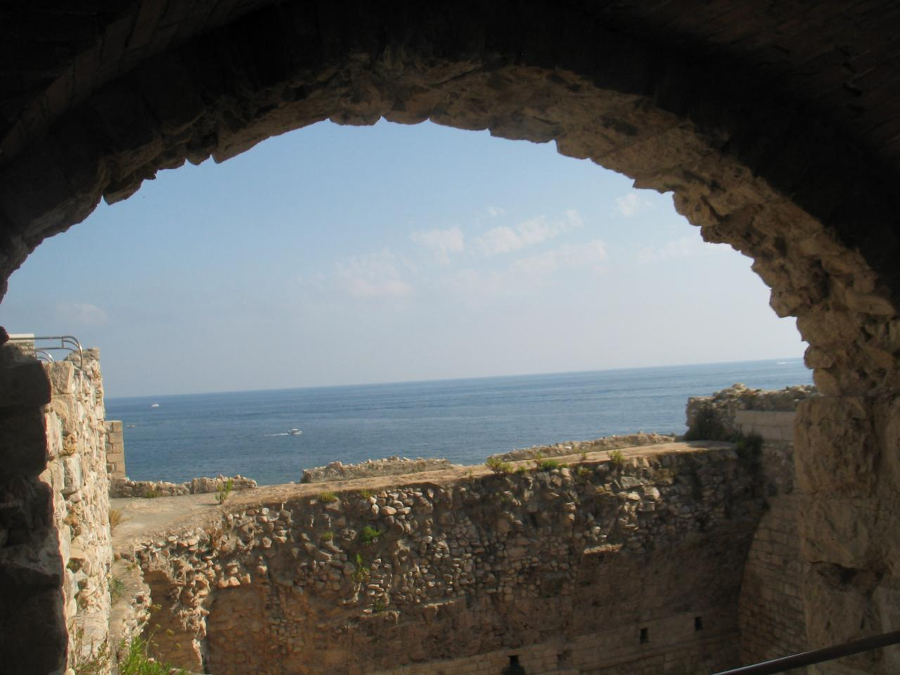 La vue panoramique du fort St Honorat