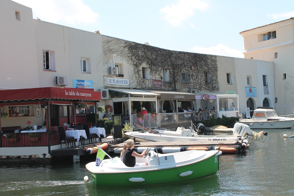 Restaurants de Port-Grimaud